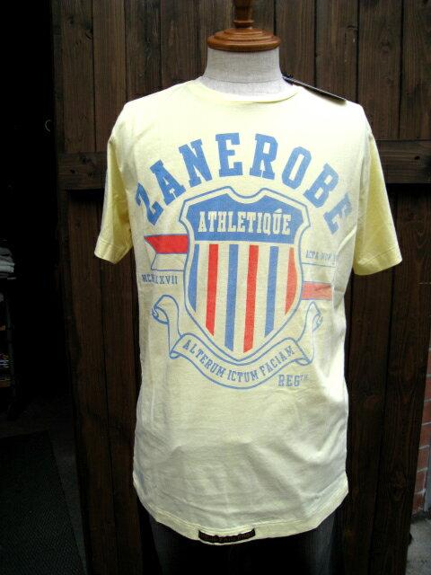 ZANEROBE/ゼンローブATHLETIQUE Tシャツ yellow