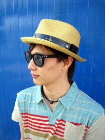 HTC / エイチティーシー麦わら帽子 HAT BEIGE