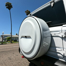 スペアタイヤカバー ジープ JEEP JL 新型ラングラー用 ボディー同色 ハードケース
