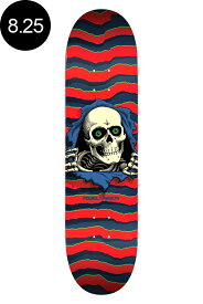 【POWELL PERALTA パウエル・ペラルタ】8.25in x 31.95in RIPPER RED DECKデッキ レッド リッパー スケボー ストリート sk8 skateboard【1805】