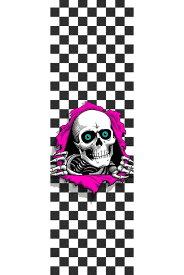 【POWELL PERALTA パウエル・ペラルタ】9in x 33in RIPPER CHECKER SHEETグリップテープ デッキテープ リッパー スケートボード スケボー sk8 skateboard【1809】