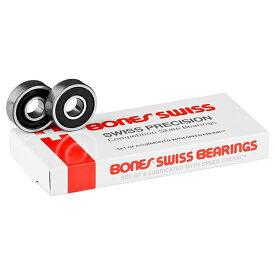 【BONES BEARINGS ボーンズ ベアリング】Swiss Bearings(8pack)スケートボード スケボー sk8 skateboard