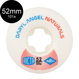 【RICTA リクタ】52mm PRO NATURALS DARYL ANGEL 101A WHEELSウィール ナチュラルズ ダリル・エンジェル スケートボード スケボー sk8 skateboard【1802】