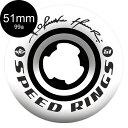 【RICTA リクタ】51mm SPEEDRINGS PRO KELVIN HOEFLER 99A WHEELウィール スケートボード ケルビン・ホエフラー ス...