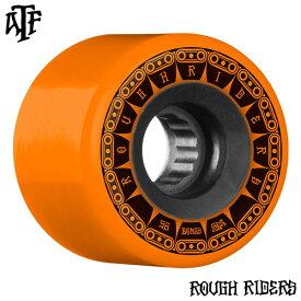 【BONES WHEELS ボーンズ ウィール】56mm ROUGH RIDER TANK 80A ORANGE WHEEL(4pack)ソフトウィール オレンジ ラフ・ライダー クルージング クルーザー スケートボード スケボー sk8 skateboard【1901】