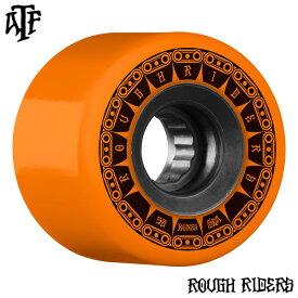 【BONES WHEELS ボーンズ ウィール】59mm ROUGH RIDER TANK 80A ORANGE WHEEL(4pack)ソフトウィール ラフ・ライダー オレンジ クルージング クルーザー スケートボード スケボー sk8 skateboard【1907】