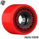 【BONES WHEELS ボーンズ ウィール】59mm ROUGH RIDER TANK 80A RED WHEEL(4pack)ソフトウィール ラフ・ライダー レッ…