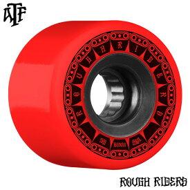 【BONES WHEELS ボーンズ ウィール】59mm ROUGH RIDER TANK 80A RED WHEEL(4pack)ソフトウィール ラフ・ライダー レッド クルージング クルーザー スケートボード スケボー sk8 skateboard【1810】