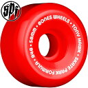 【BONES WHEELS ボーンズ ウィール】【P5】SPF PRO HAWK MINI CUBE 58mm REDWHEELS(4pack)【84B】ウィー...