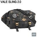 【CHROME クローム】VALE SLING 2.0 RAVENSWOOD CAMOスリングバッグ レーベンズウッドカモ べイルスリング ボディバッ…