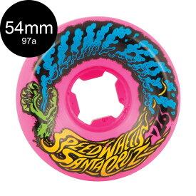 【SANTA CRUZ サンタクルーズ】54mm SLIME BALL VOMIT MINI 97A WHEELS NEON PINKウィール ネオンピンク ハードウィール スクリーミングハンド オールドスクール スケートボード スケボー sk8 skateboard【1905】