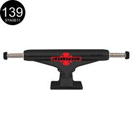 【INDEPENDENT インディペンデント】139 CLASSIC OGBC FLAT BLACK STANDARD TRUCKS(Stage11)トラック フラットブラック スケートボード スケボー sk8 skateboard2個セット【2008】