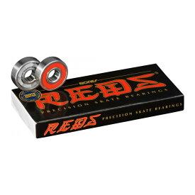 【BONES BEARINGS ボーンズ ベアリング】BONES® REDS® SKATEBOARD BEARINGSベアリング レッズ スケートボード スケボー sk8 skateboard