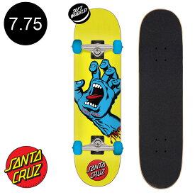 【SANTA CRUZ サンタクルーズ】7.75in x 30in SCREAMING HAND SK8 COMPLETEコンプリート (完成組立品) スケートボード スクリーミングハンド エントリーモデル 初心者 おすすめ 初めて スケボー ストリート sk8 skateboard【2007】