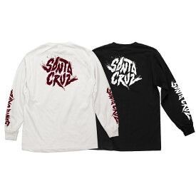 【SANTA CRUZ サンタクルーズ】FLARE REGULAR L/S SHIRT MENSロングスリーブTシャツ TEE 長袖 ロンT メンズ レディース ストリート スケーター ファッション スケートボード スケボー sk8 skateboard【20SS】