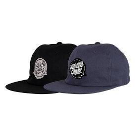 【SANTA CRUZ サンタクルーズ】DOT REFLECTION UNSTRUCTURED STRAPBACK HAT MENSキャップ ストラップバック ハット 帽子 CAP スケートボード スケボー sk8 skateboard【19FW】