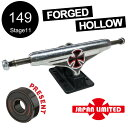 【INDEPENDENT インディペンデント】【日本限定】149 FORGED HOLLOW LTD CROSS SILVER/BLACK STANDARD T...
