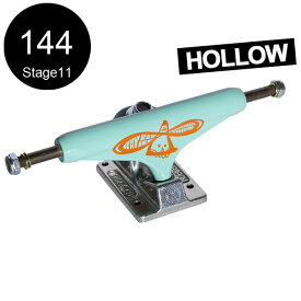 【INDEPENDENT インディペンデント】144 HOLLOW RAY BARBEE TEAL/SILVER STANDARD TRUCKS(Stage11)トラック ティール/シルバー レイ・バービー トーマス・キャンベル スケートボード スケボー sk8 skateboard2個セット【1808】