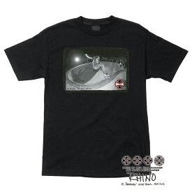 【INDEPENDENT インディペンデント】RHINO/ AP NUDE BOWL REGULAR S/S MENS BLACKTシャツ ブラック 40周年 ライノ アル・パータネン スケートボード スケボー sk8 skateboard【18SM】