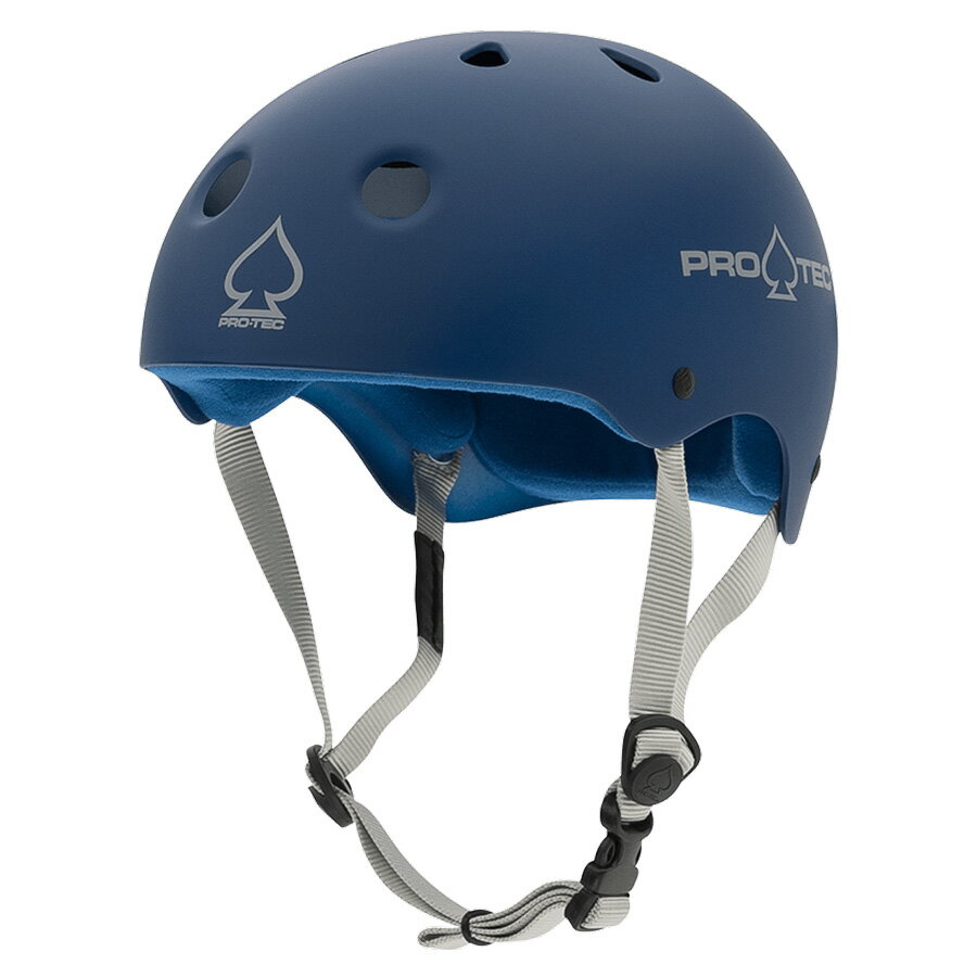 【PRO-TEC プロテック】CLASSIC SKATE MATTE BLUEヘルメット マットブルー プロテクター つや消し スケートボード スケボー sk8 skateboard BMX インライン【1805】