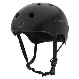 【PRO-TEC プロテック】CLASSIC SKATE MATTE BLACKヘルメット マットブラック プロテクター つや消し 黒 PROTEC スケートボード スケボー sk8 skateboard BMX インライン【1805】