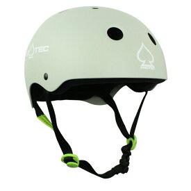 【PRO-TEC プロテック】CLASSIC SKATE MATTE LIGHT GRAYヘルメット マットライトグレー プロテクター つや消し PROTEC スケートボード スケボー sk8 skateboard BMX インライン【1808】
