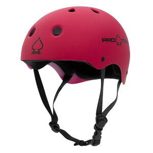 【PRO-TEC プロテック】CLASSIC SKATE MATTE PINKヘルメット マットピンク プロテクター つや消し 大人用 子供用 キッズ ユース PROTEC スケートボード スケボー sk8 skateboard BMX インライン【2103】
