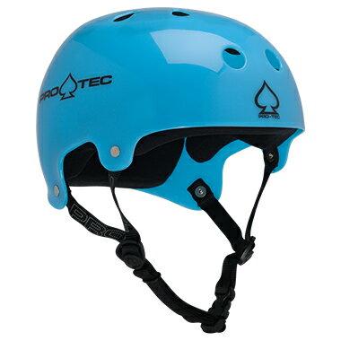 【PRO-TEC プロテック】CLASSIC BUCKY(TRANSLUCENT BLUE)【2-STAGE】【HDPE FLEX】Helmets スケートヘルメットスケートボード スケボー sk8 skateboard BMX inline インライン Bicycle 自転車