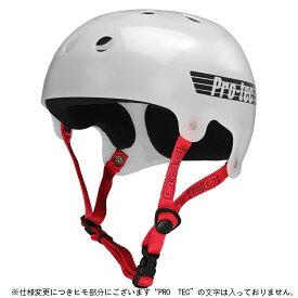 【PRO-TEC プロテック】CLASSIC BUCKY TRANSLUCENT WHITEヘルメット トランスルーセントホワイト 白 プロテクター PROTEC スケートボード スケボー sk8 skateboard BMX インライン【1704】