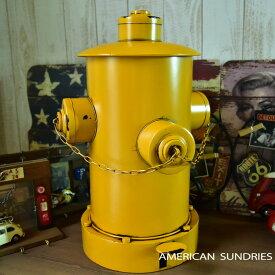 アメリカン雑貨 雑貨 ビンテージ風 オイル缶 ブリキ缶 収納 ゴミ箱 ダストボックス オイル缶 イエロー トラッシュボックス インテリア