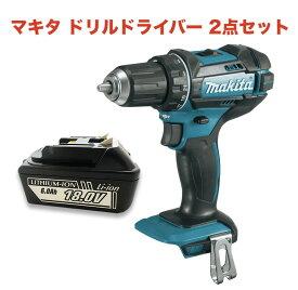 マキタ ブラシレス ドリルドライバー 18V 充電式 ブラシレスXFD13Z 互換バッテリー BL1860B 2点セット makita 電動工具 BL1820 BL1830 BL1840 BL1850 BL1860