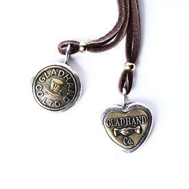 GLAD HAND グラッドハンド / 「BUTTON CHARM - LARGE」 シルバーチャーム / MEN'S メンズ / ハート / ボタン / ネックレス / プレゼント / カジュアル / アメカジ