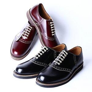 REGAL×GLAD HAND リーガル×グラッドハンド / 「SADDLE SHOES - ONE COLOR」 サドルシューズ / MEN'S メンズ / 革靴 / 短靴 / 本革 / ビジネス / カジュアル / アメカジ