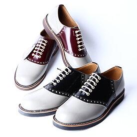 REGAL×GLAD HAND リーガル×グラッドハンド / 「SADDLE SHOES」 2TONE サドルシューズ / MEN'S メンズ / 革靴 / 短靴 / 本革 / ビジネス / カジュアル / アメカジ