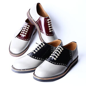 REGAL×GLAD HAND リーガル×グラッドハンド / 「SADDLE SHOES - TWO TONE」 2TONE サドルシューズ / MEN'S メンズ / 革靴 / 短靴 / 本革 / ビジネス / カジュアル / アメカジ