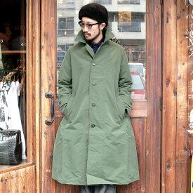 BLACK SIGN ブラックサイン / 「BSM Raincoat」 レインコート / MEN'S メンズ / レインコート / ロングコート / 雨具 / 耐水 / 防風 / 無地 / ミリタリー / カジュアル / アメカジ