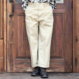 TROPHY CLOTHING トロフィークロージング / 「40 Civilan Trousers」 チノトラウザーズ / MEN'S メンズ / トラウザー / パンツ / チノパン / ミリタリー / カジュアル / アメカジ