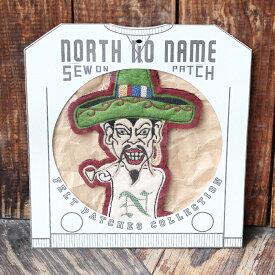 """NORTH NO NAME ノースノーネーム / 「HAND MADE FELT - PATCH」 ハンドメイドフェルトワッペン """"サイズXL"""" / ハンドメイド / NNN / ヴィンテージ / アメカジ / パッチ"""