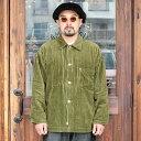 NASTOYS ナストイズ / 「Corduroy Over Shirt Jacket」 コーデュロイオーバーシャツジャケット / MEN'S メンズ / ジャケット / シャツ / 太畝 / 長袖