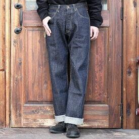 TROPHY CLOTHING トロフィークロージング / 「1604 Waist Overall Dirt Denim」 ワイドシルエットデニム / MEN'S メンズ / デニム / パンツ / ワンウォッシュ / 14.5oz / ワーク / カジュアル / アメカジ / モーターサイクル