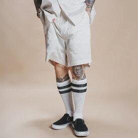 NASTOYS ナストイズ / 「Satin Short Pants」 サテンショートパンツ / MEN'S メンズ / セットアップ / ショーツ / 短パン / 薄手 / 無地 / カジュアル / アメカジ