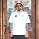 WEIRDO ウィアード / 「WEIRDOZ - S/S WORK SHIRTS」 オープンカラーS/Sシャツ / MEN'S メンズ / シャツ / ワーク / 開襟 / 半袖 / 刺繍 / ヴィンテージ / カジュアル / アメカジ