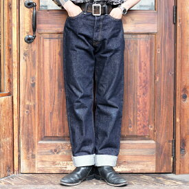 BLACK SIGN ブラックサイン / 「14oz BS Denim Pants」 5ポケットデニムパンツ / MEN'S メンズ / デニム / パンツ / ストレート / ワンウォッシュ / 14oz / ワーク / カジュアル / アメカジ
