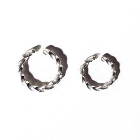 NASTOYS ナストイズ / 「Twist - RING SMALL」 925製シルバーリング / MEN'S メンズ / 指輪 / ペア / ジュエリー / プレゼント / カジュアル / アメカジ