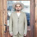 The Stylist Japan ザスタイリストジャパン / 「HOPSACK 2B JACKET」 ホップサックジャケット / MEN'S メンズ / セットアップ / 3ピース / 2ボタン /