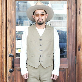 The Stylist Japan ザスタイリストジャパン / 「HOPSACK VEST」 ホップサックベスト / MEN'S メンズ / セットアップ / 3ピース / 5ボタン / スーツ / 無地 / フォーマル / アメカジ