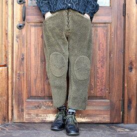 BLACK SIGN ブラックサイン / 「Athletic Boa Pants」 アスレチックボアパンツ / MEN'S メンズ / パンツ / 防寒 / 無地 / 9分丈 / スポーツ / カジュアル / アメカジ