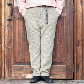 WEIRDO ウィアード / 「SPICE OF LIFE - EASY BOA PANTS」 イージーボアパンツ / MEN'S メンズ / パンツ / ボア / テーパード / 防寒 / 無地 / カジュアル / アメカジ