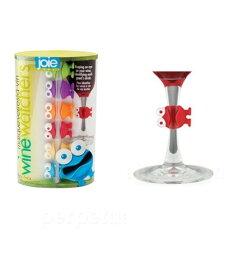 Joie/ Wine Watchers Cocktail and Wine Glass Charms (set of 6) パーティーで大活躍!!ワインウォッチャー カクテル & ワインチャーム・グラスマーカー ★ 6個セット