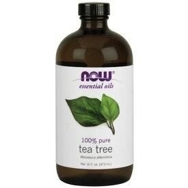 Now Tea Tree Oil 16oz #7628/ ナウ ティーツリーオイル 473ml